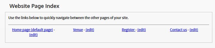 websiteindex